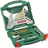 Bosch X-Line - Maletín de 50 unidades para taladrar y atornillar