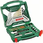 Bosch X-Line Bohrer-/Bitset/Steckschlüsselsatz, 50-tlg. (2607019327)