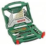 Bosch X-Line Accessory Set, 50 Pieces