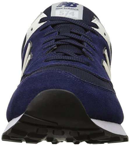New Balance 574, Baskets Basses Mixte Adulte Bleu (BLUE RED)