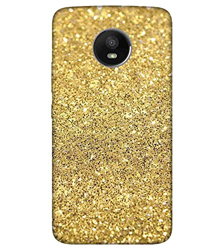 For Motorola Moto E4 Plus festive abstract of gold glitter background ( festive abstract of gold glitter background, gold glitter, gold glitter texture ) Printed Designer Back Case Cover By TAKKLOO