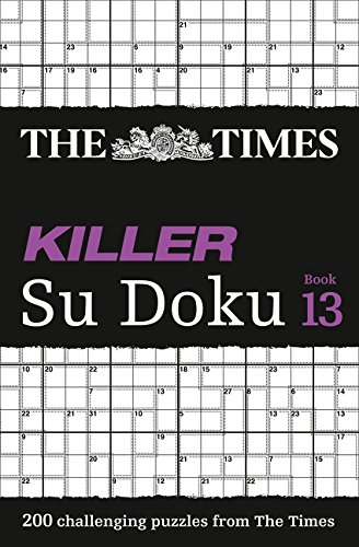 The Times Killer Su Doku Book 13: 200 Lethal Su Doku Puzzles par The Times Mind Games