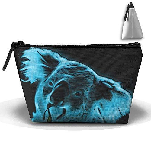 782ca96f6306 Portable Makeup Bag Organizer Travel Magic 3D Printing Koala Pop Art  Cosmetic Bags Brush Storage Pouch for Women Purse travel makeup bag