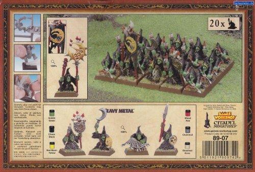 Games Workshop Warhammer Regimiento Goblins Nocturnos