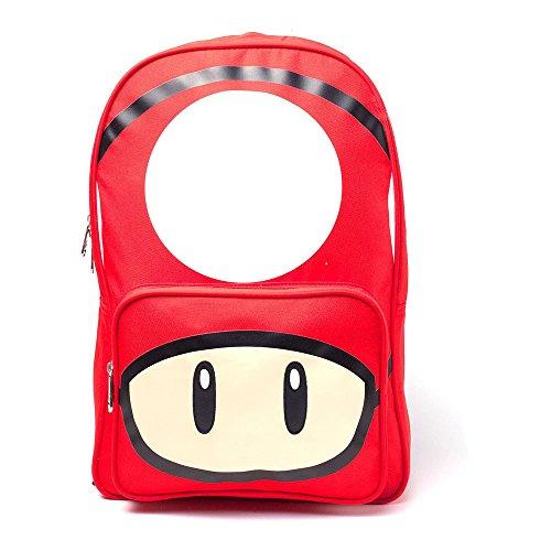 Nintendo Daypack, Rot - rot, BIO-BP338453NTN Preisvergleich