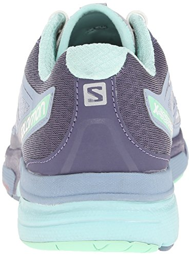 Salomon X-Scream 3d, Chaussures de Running Compétition Femme purple