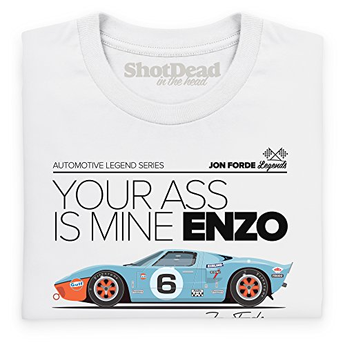 Jon Forde You're Mine T-Shirt, Herren Wei