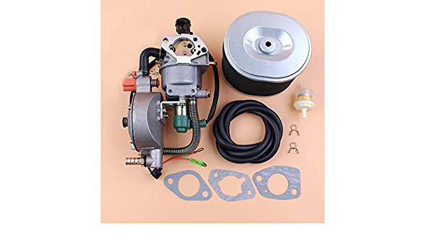 Beixi Zeit Auto Choke Dual Fuel Vergaser Luftfilter Dichtungssatz For Honda Gx390 Chinese 188f 190f 11hp Gas Benzin Motor Motor Generator Küche Haushalt