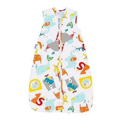 Gro Premium - Saco de dormir, 6-10 años, diseño elefante