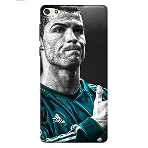 HTC Desire 626 Printed Back Cover (Soft Cover) ronaldo