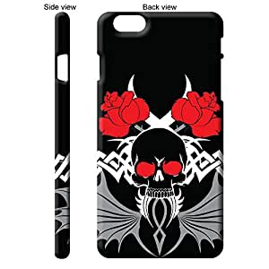 TheGiftKart Abstract Art Scary Skull Tattoo 39th Design Back Cover Case for Apple iPhone 6 Plus (5.5 Inch) - Multicolor