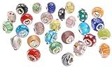 Die besten Bundle Monster Of Beauties - Bundle Monster Kunstnägel Viel Silber Lampwork Murano Glas Bewertungen