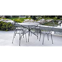 Amazon.fr : Table Ronde Metal : Jardin