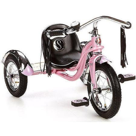 12-schwinn-roadster-trike-with-custom-mustache-cruiser-handlebars-with-long-tassels-pink-by-schwinn