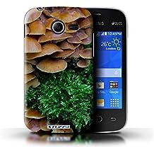 Carcasa/Funda STUFF4 dura para el Samsung Galaxy Pocket 2 / serie: Plantas/Hojas - Seta