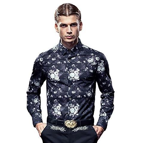 FANZHUAN Chemise Fashion Homme Chemise Homme De Luxe Nouveauté Chemise Homme Fashion