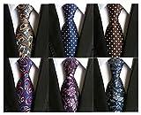 Vellede Lot 6 PCS Cravate de Cos...