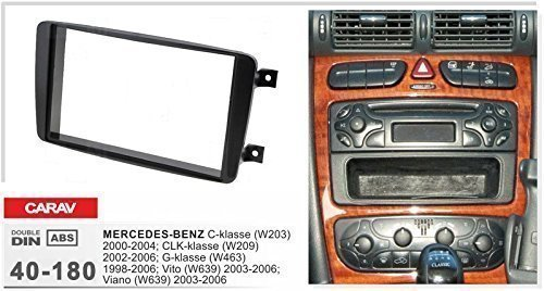 Campervan 40-108 Double DIN Facia Adaptor for MERCEDES for sale  Delivered anywhere in UK