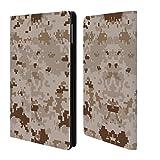 Head Case Designs Marpat Desert Militärischen Tarnfarben Serie 2 Brieftasche Handyhülle aus Leder für iPad Mini 4