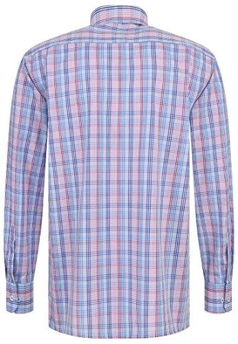 eterna -  Camicia classiche  - A quadri - Uomo Blau