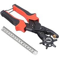 Cinturón agujero perforadora, ballery profesional resistente alicate Sacabocados para piel 2.0 - 4,5 mm