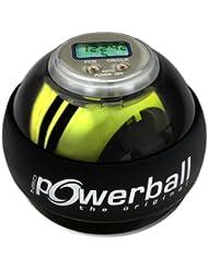 Kernpower Powerball Appareil d'entraînement mains et bras avec démarrage auto et compte-tours (Gris transparent)