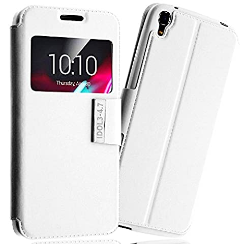 *** LUXE *** Etui Housse ALCATEL ONE TOUCH IDOL 3