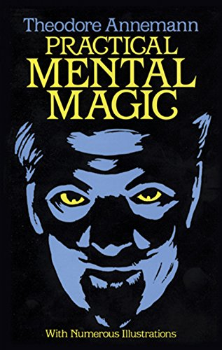 Practical Mental Magic: 16 Art Stickers (Dover Magic Books)