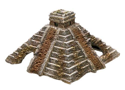 Nobby Maya Pirámide Acuario Adornos, 16x 16,5x 10cm
