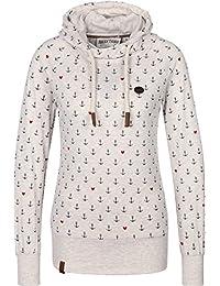 Naketano Damen Sweatshirt Bigbabababagei Hoodie Longshirt mit Kapuze  Longsleeve a229dfb9f7