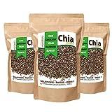 Mynatura Chia Samen 3er Pack (3x 1000g Beutel)