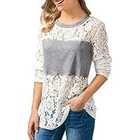 Frauen Langarm Strickpullover Schulterfrei Langer Mantel Jacke Lässige Pullover Tops Mode T-Shirt Shirt Bluse Damen Sweatshirt Vintage Oberteile V-Ausschnitt Freizeit Weste Hemden