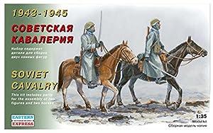 Eastern Express EE35302 1943-1945 - Juego de Modelos de Cavalry soviético