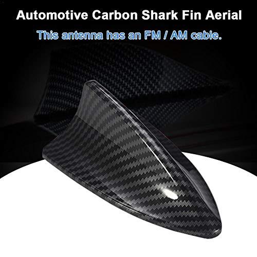 tulipuk - Cubierta para Antena de Coche, Fibra de Carbono, diseño de Aleta de tiburón, para BMW F22 F30 F35 F34 F32 F33 F80
