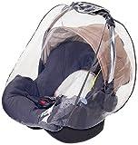 DIAGO 30000.72653 Regenschutz für Babyschalen und Baby Autositze (z.B. Maxi-Cosi, Cybex, Römer) mit Trageöffnung und Luftlöchern, frei von PVC