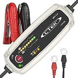 CTEK 56-305 MXS 5.0 Caricabatterie Automatico (Carica, Mantiene e Ripristina Batterie da Auto e Moto) 12V, 5 Amp. - Presa Europea