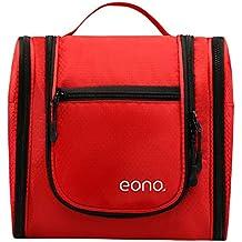 Eono Essentials Grand Hommes et Femmes Cosmétique Sac Pour Maquillage, Cosmétique, Rasage, Accessoires de Voyage, Articles Personnels - Kit de toilette à accrocher Maquillage Organisateur