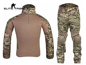 Airsoft Chasse tactique militaire BDU Convient G2de combat uniforme Chemise Pantalon Multicam