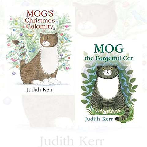 Judith Kerr Mog Collection 2 Books Bundle (Mog's Christmas Calamity,Mog the Forgetful Cat)
