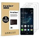 iVoler [3 Pack] Pellicola Vetro Temperato per Huawei P9 Lite [Garanzia a Vita], Pellicola Protettiva, Protezione per Schermo