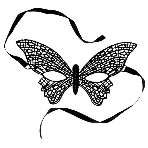 Deanyi Frauen Spitze Maske Venedig Sexy Gesicht Kostüm Maskerade für Karneval Masken Maske, Venetian Carnival Schmetterling Kleidung