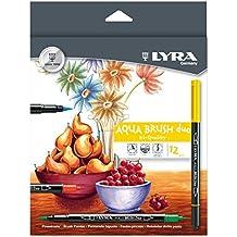 Lyra Aqua Brush Duo - Estuche 12 rotuladores de color