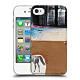 Head Case Designs Offizielle Michel Keck Fertig Vor Dem Anfang Abstrakt 3 Soft Gel Hülle für iPhone 4 / iPhone 4S