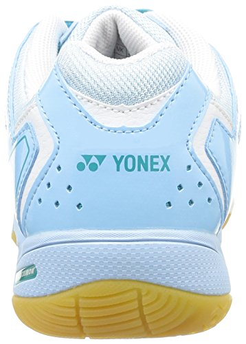 YONEX SHB-02LX Scarpa da Badminton Donna Bianco/Blu