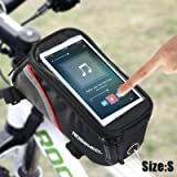 #10: Zorbes Roswheel 4.2 inch Touch Screen Bicycle Saddle Phone Bag Holder Handlebar Pouch