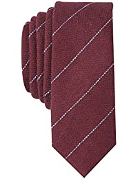 Original Penguin Men's NOVO STRIPE Accessory, -burgundy, One Size