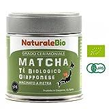 Tè Verde Matcha Biologico in Polvere | Tea Verde Giapponese di 1 Grado |...
