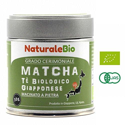 NaturaleBio Té Matcha Orgánico Ceremonial