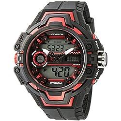 UPhasE Quartz Watch with White Dial Analogue-Digital Quartz Chronograph, 703-200 up