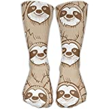 sexy world Perfect Gifts - Cool Crown Lion King Print Stockings Breathable Ski Socks Sports Socks For Women Teens Girls Unisex 50cm(19.6 inch)